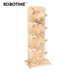 Robotime Children Adult Interesting Landing Angel Stress Relief Toy DIY Wooden Novelty Gag Toy Sports & Entertainment  LP301