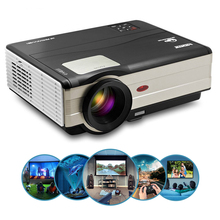 CAIWEI Home Theater LED Projector HD Video Game Movie Proyector Smartphone TV Mo