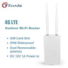 TIANJIE-routeur wifi 4g lte (CPE905) haute vitesse, étanche IP66, pour l'extérieur, double antenne, sans fil, extérieur, avec sim
