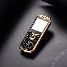 """Мини Роскошные A88 телефон 1.5 """"MP3 Камера Bluetooth фонарик дети телефон металла мобильного телефона"""