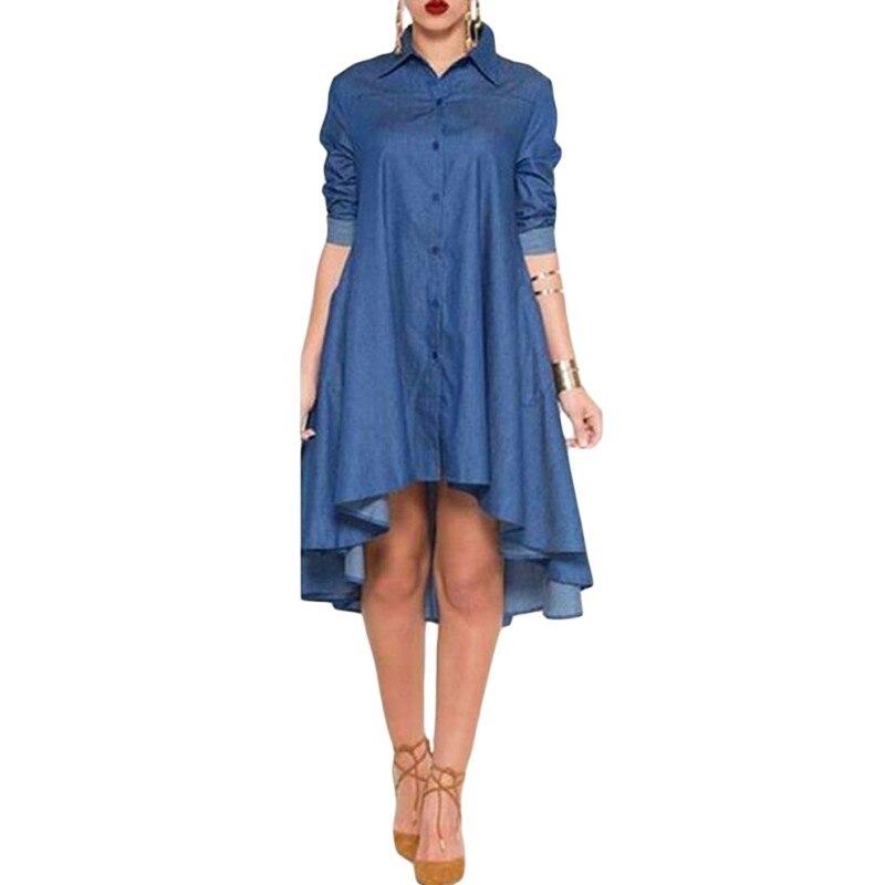 Cheap denim dresses online