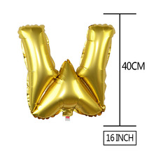1 PC Happy Birthday Event Decorative Foil Letters