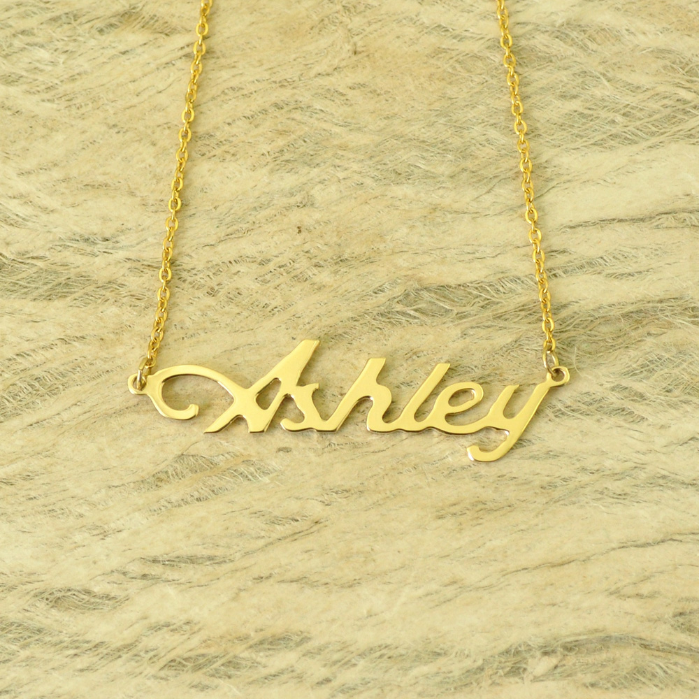 Benutzerdefinierte Namen Halskette Personalisierte Namenskette Kunden Ihr Name Schmuck Geschenk für Ihre Muttertag Geschenk