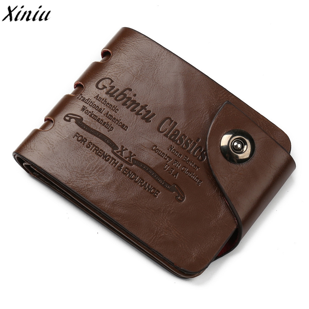 Famous Brand Men Wallet Letter Partten Solid Leather Hasp Short Purse Credit Card ID Holder Fashion Design Wallet Carteiras#7107