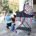 Portador de bebé multifuncional cuna portátil cuna canasta de dormir recién nacido bebé mesa plegable