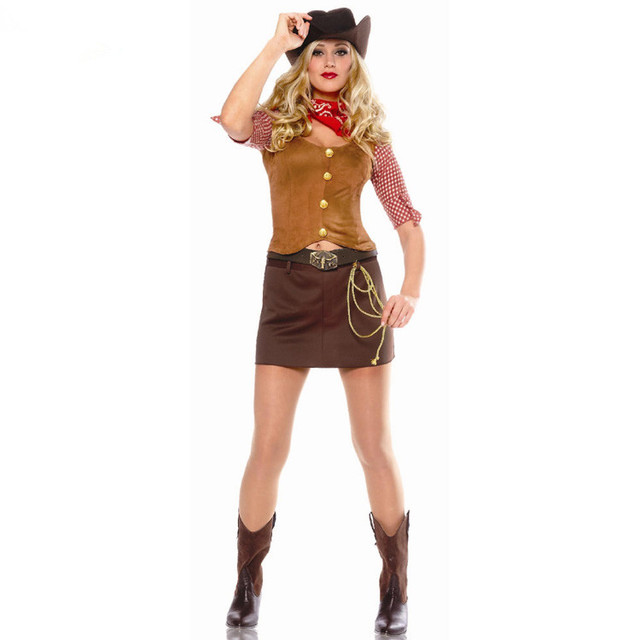 cowgirl costumes women cowboy halloween costume cowgirl party supplies halloween cosplay costumes cowboy costumes for women  sc 1 st  AliExpress.com & cowgirl costumes women cowboy halloween costume cowgirl party ...