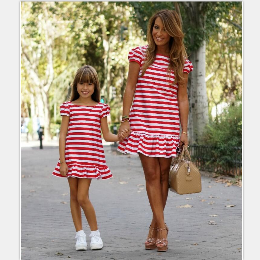 girls princess dress mother daughter dresses family