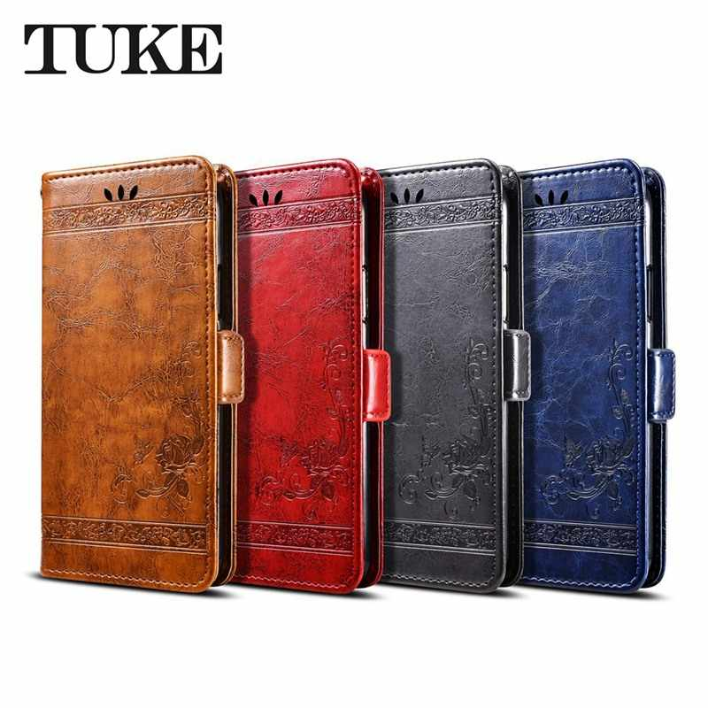 Oil Wax Leather Case For Samsung Galaxy A2 Core Funda Wallet Flip Cover For Samsung A40 M30 Cases Silicon Back Cover