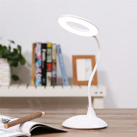 Smart Desk Table Lamp High Capacity LED Book Light Reading Eye Care Lamparas De Mesa Rechargeable