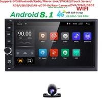 2GRAM 2Din Android8.1 Car NO DVD Radio Player 71024*600 Universal For Nissan vw GPS Navigation BT autoradio Stereo Audio Player