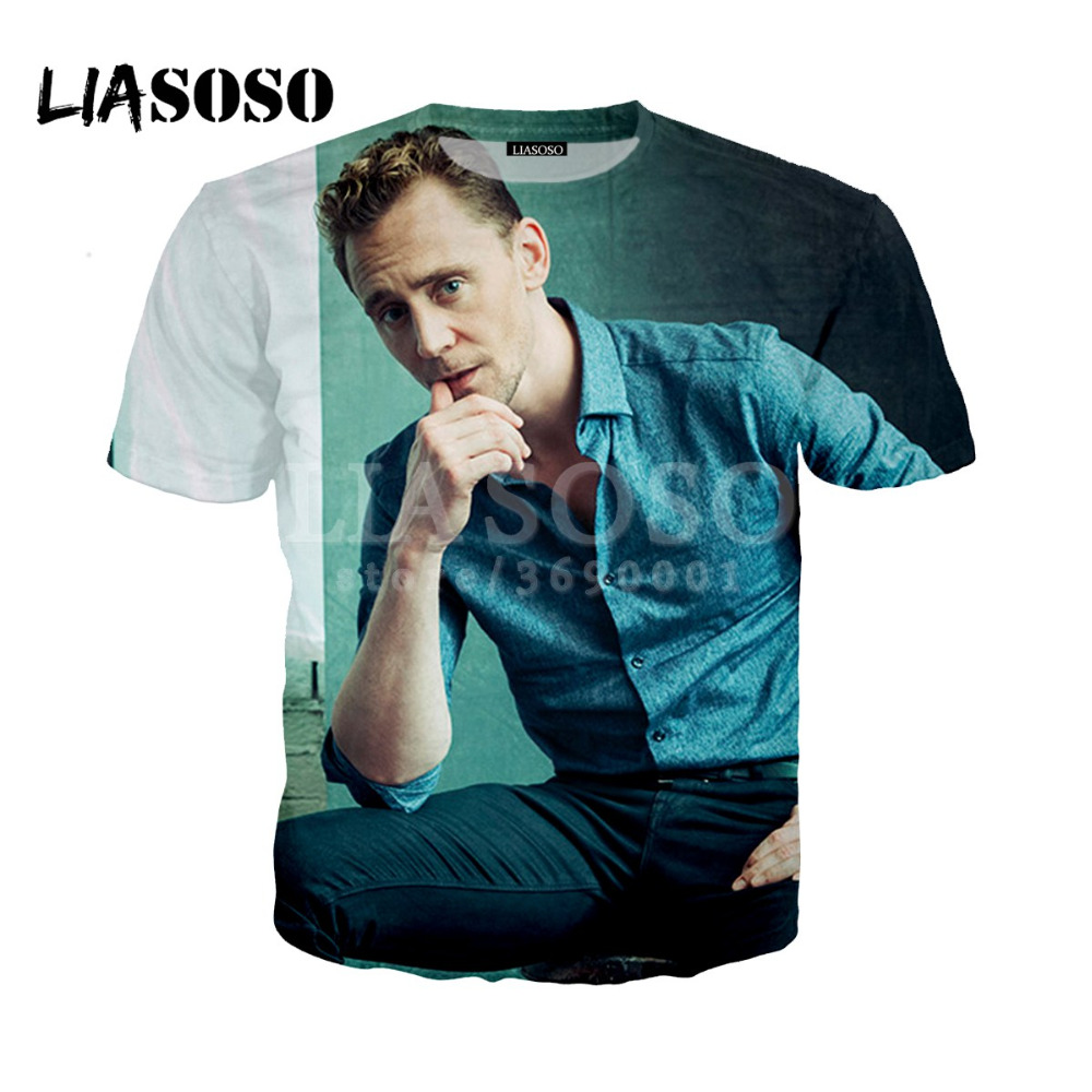 LIASOSO 2018 3D Print Women Men The Dark World Loki Tom ...