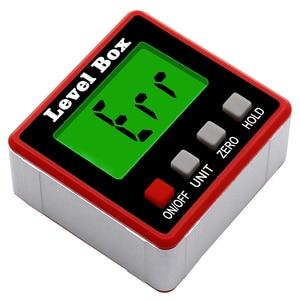 Image 5 - Rapporteur numérique de précision inclinomètre numérique, boîte de niveau étanche, détecteur dangle numérique avec Base magnétique
