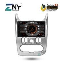 4 ГБ 9 «HD Android 9,0 автомобильный стерео для Renault Duster Dacia Logan Sandero Авто Радио FM gps навигация WiFi резервная камера без DVD