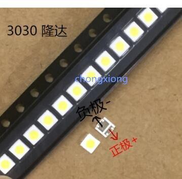 LED Backlight High Power LED 1 8W 3030 6V Cool white 150 187LM PT30W45 V1 TV