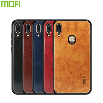 MOFi PU Leather + TPU + PC Case for Huawei Honor Play Cover Phone Cases Full Protection Back Cover for Huawei Honor Play Case