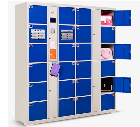 Smart Password Bar Code Fingerprint Locker Control Board Electronic Supermarket Safes Lockers Cabinets