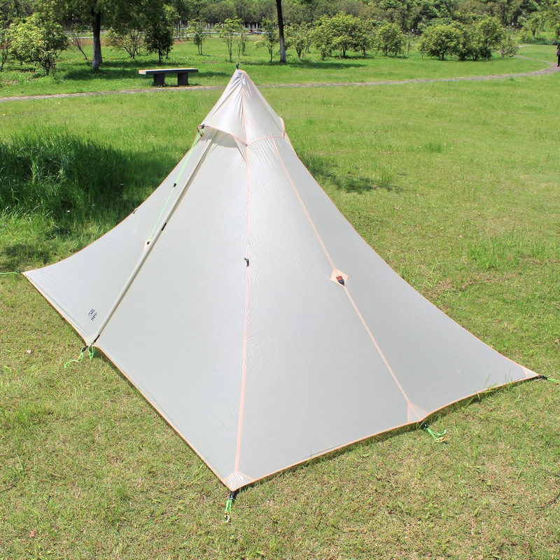 ASTA 2016 high quality 2 side silicone pyramid fly of outdoor c&ing tent 265*170*135cm-in Tents from Sports u0026 Entertainment on Aliexpress.com | Alibaba ... & ASTA 2016 high quality 2 side silicone pyramid fly of outdoor ...