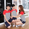 Family Matching Outfits 2017 Mommy and Girls Clothes Fashion Mother Father Baby Cotton Family Clothing Summer Boys Clothing