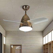 JAXLONG Nordic Industrial Pendant Light modern Minimalist Living Room Lamp Restaurant Bedside Fan Fixtures lustre