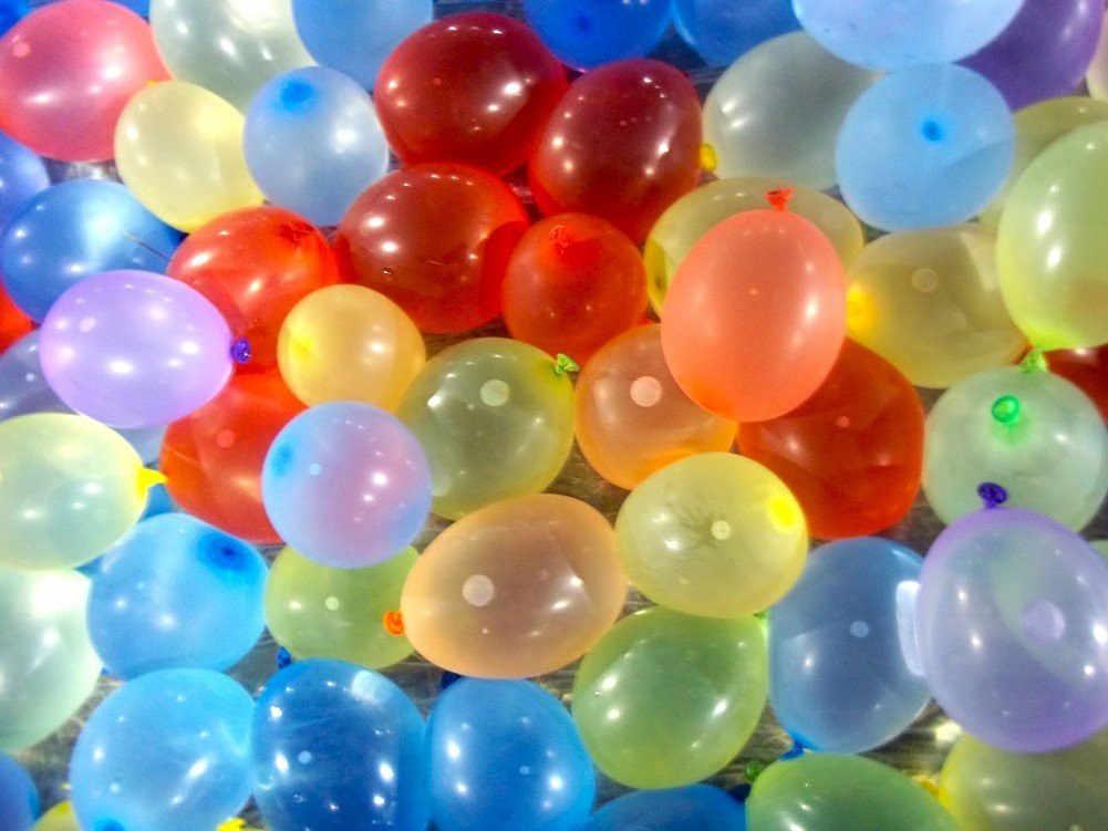 500 шт./упак. маленькие шары в ярких цветах Единорог вечерние globos cumpleanos infantiles palloncini compleanno