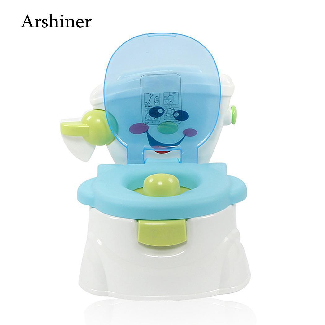Portable Baby Pot Training Girls Boy Potty Kids Chair Toilet Seat Children's Pot Baby Potty Multifunction Baby Toilet Car Potty