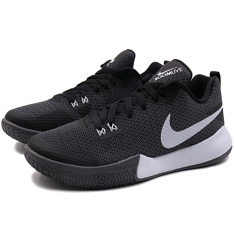 c9601e04a4e3 Original 2018 NIKE ZOOM LIVE II EP Men s Basketball Shoes Lace up High cut  Breathable Comfortable Wear resistant Sneakers AH7567-in Basketball Shoes  from ...