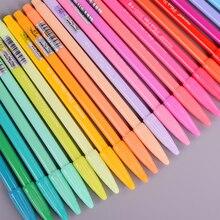 Детская цветная Акварельная ручка Студенческая ручка декоративная Сделай Сам альбом маркер ручка Скрапбукинг карта фото канцелярские принадлежности