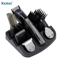 100 240V Kemei 6 In 1 Electric Shaver Hair Trimmer Titanium Hair Clipper Shaving Machine Cutting