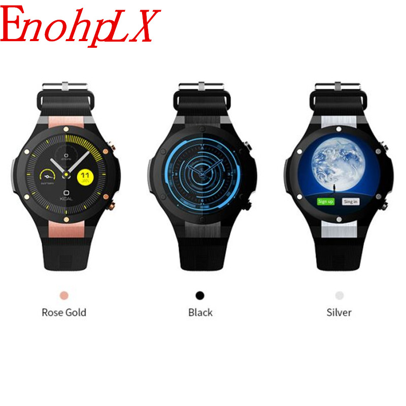цена EnohpLX H2 Latest Android 5.1 MTK6580 1GB 16GB Smart Watch Clock H2 With GPS Wifi 5MP Camera Smartwatch For Android iOS Phone