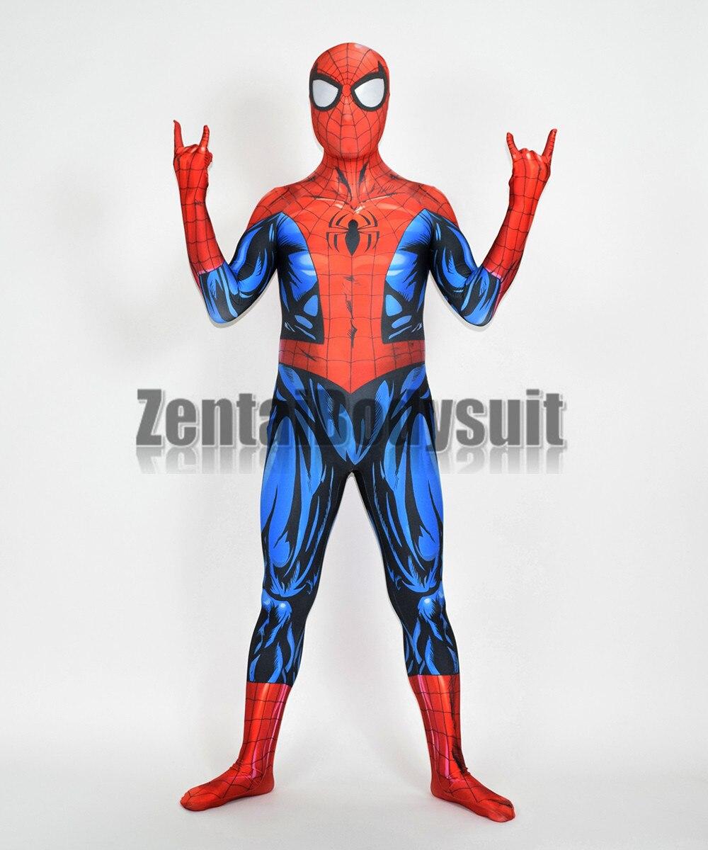 マーベルの究極スパイダーマン Bagley V2 クモハロウィーンパーティー Zentaibodysuit スパイダーマン衣装  グループ上の ノベルティ & 特殊用途 からの アニメ コスチューム の中 1
