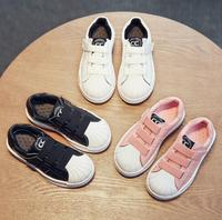 High Quality Hot Sale Kid Girls And Boys Shoes Genuine Leather Sneaker Casual Sport Shoes Inner