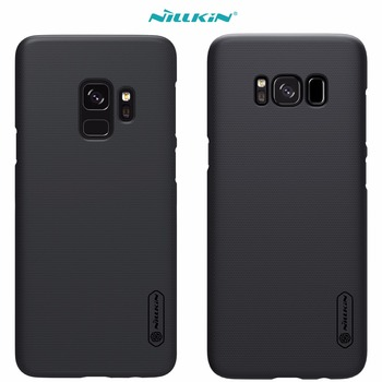 Case For Samsung Galaxy S9 S8 Plus s4 NILLKIN Super Frosted Shield back cover with free screen protector and Retail package
