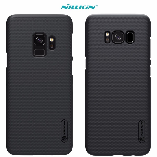 Case For Samsung Galaxy S9 S8 Plus S4 Nillkin Super Frosted Shield Back Cover With Free Screen Protector And Retail Package by Nillkin