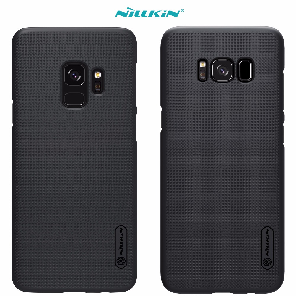 Caso para Samsung Galaxy S9 S8 más s4 NILLKIN Super Frosted Shield para Samsung Galaxy S9 paquete al por menor
