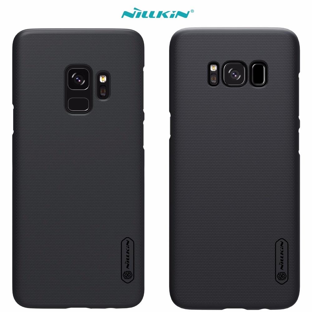 Fall Für Samsung Galaxy S9 S8 Plus s4 NILLKIN Super Mattschild cover-rückseite mit freier schirm-schutz und Einzelhandel paket