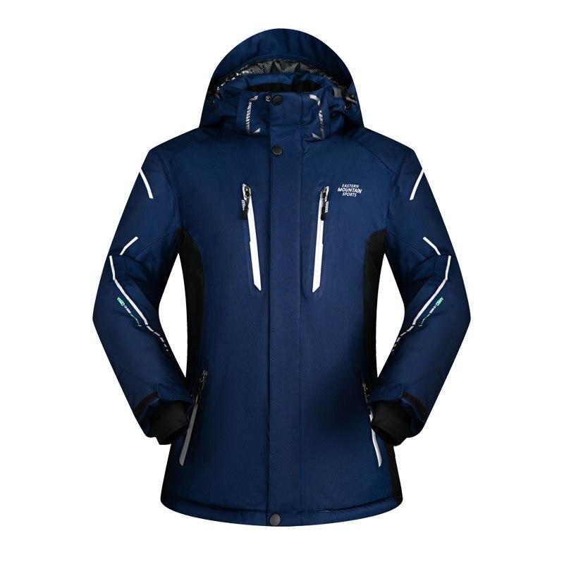 2019 hommes veste de Ski à capuche hiver vêtements coupe-vent imperméable à l'eau en plein air Sport porter Super chaud vêtements mâle Ski Snowboard