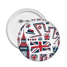 Башня баллон солдат Великобритания Англия знаковая отметка флаг