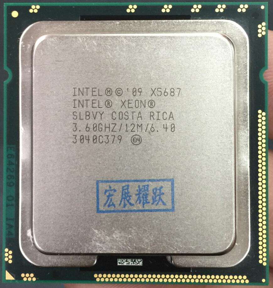 Intel Xeon Processor X5687 Quad-Core LGA1366 Desktop CPU 100% working properly Desktop Processor image