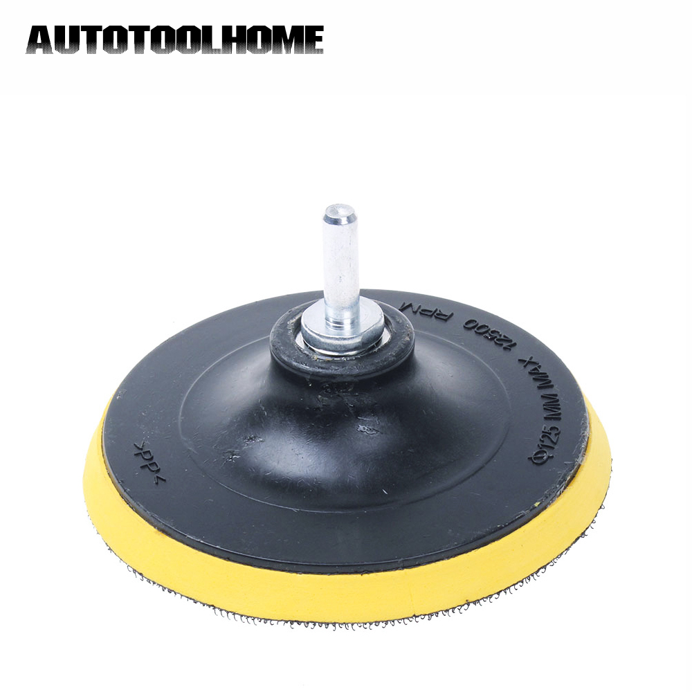 Sanding Hook and Loop Backing pad Polishing pad with drill attachment 3/'/' 75mm
