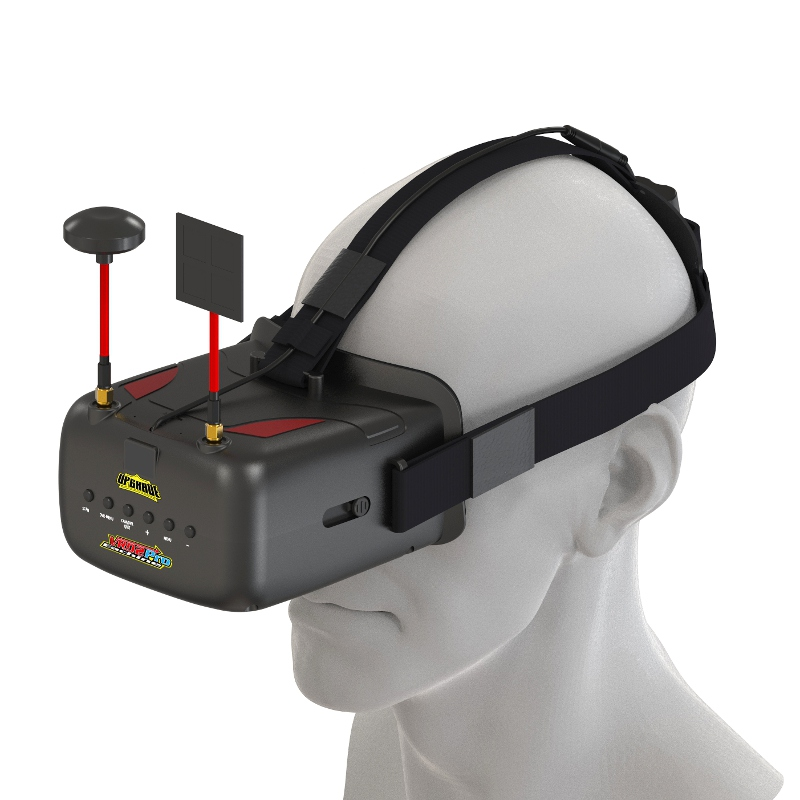 Высокое качество Нибиру VR D2 Pro 5 дюйм(ов) 800*480 40ch 5.8 Г разнообразие FPV-системы очки ж/DVR объектива регулируемый для модели RC