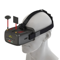 New Eachine VR D2 5 Inches 800 480 40CH Raceband 5 8G Diversity FPV Goggles With