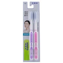 2 pces nano-escova de dentes antibacteriana quente família adulto pele macia silicone escova de dentes cuidados orais nano escova eco amigável escova de dentes