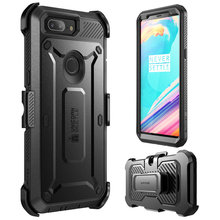 For OnePlus 5T Case SUPCASE UB Pro Full Body Rugged Holster Protective Case with Built in Screen Protector For One Plus 5T Cover