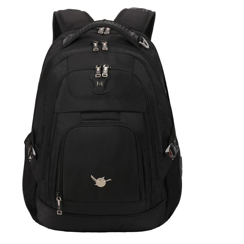 Suissewin 2017 Brand Laptop Backpack Men  Pack Black Bag Backpack Swiss Gear Waterproof Business Travel Backpack Male Sac a dos стоимость