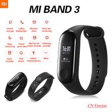 Original Xiaomi Mi Band 3 Sport Smart Band Fitness Bracelet Pedometer Heart Rate Smart Wristband Touch Screen OLED Bluetooth 4.2