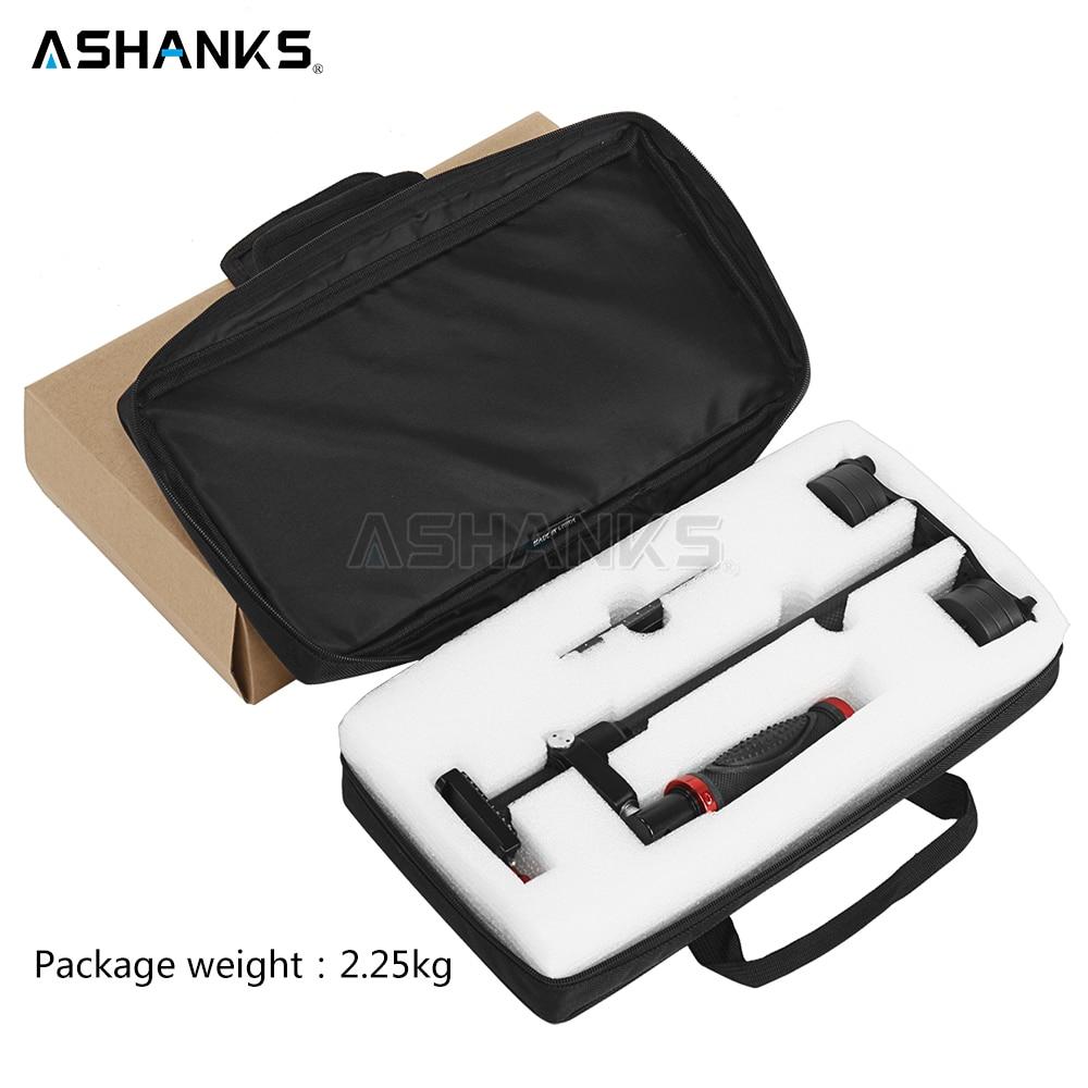 ASHANKS S60 + Steadycam 3kg Loading 57cm Carbon Fiber Handheld Stabilizer Steadicam For DSLR Canon Sony Video Camera Photography