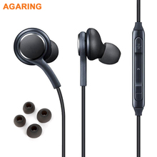 лучшая цена Original Samsung In ear Headset EO-IG955 For Samsung Galaxy S8 S8 Plus Earphones with Mic Remote Control