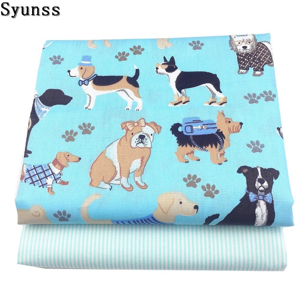 100/% Cotton Fabric 160cm wide, Grey Pets
