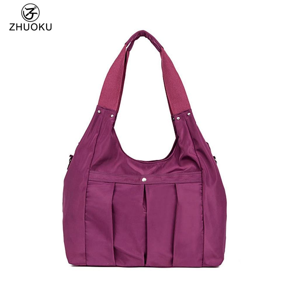 Women Messenger Bags Ladies Nylon Handbag Travel Casual Shoulder bag Female Hig
