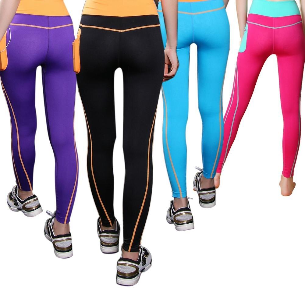 Activewear High Waist Fitness Leggings Women Pants Fshion Patchwork Workout Legging Stre ...